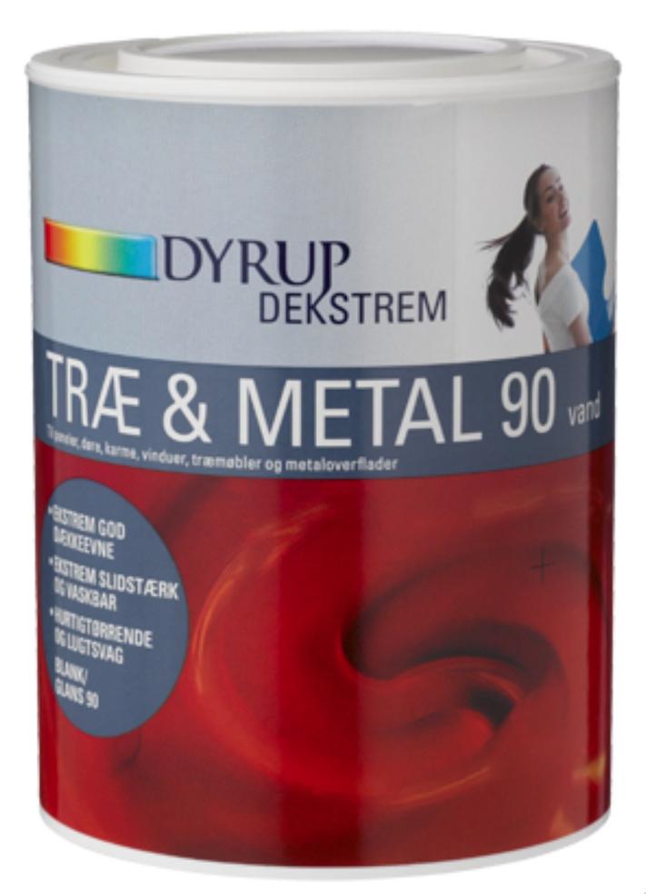 Image of   Dekstrem træ & metal acryl 90 2,25 L Base 30, skriv farvekode herunder