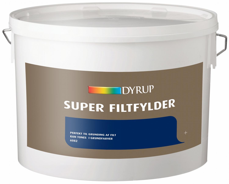 Image of   Dyrup super filtfylder 10 L
