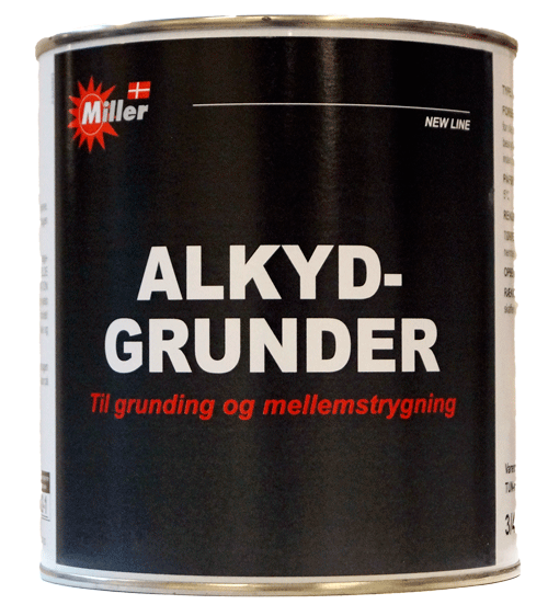 Image of   Alkydgrunder hvid 3/4 l