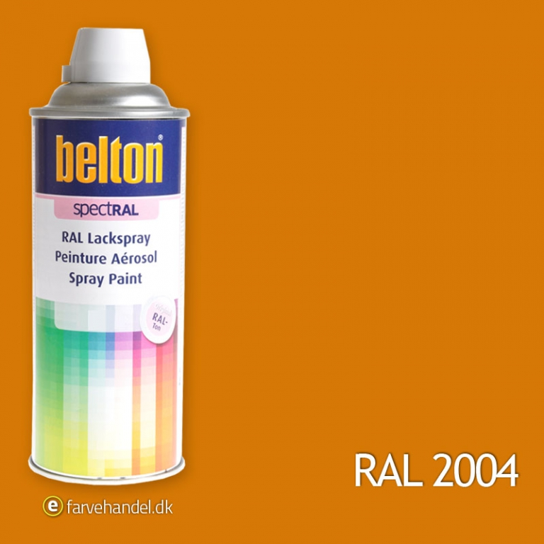 Image of   Belton 324 RenorangeRAL 2004
