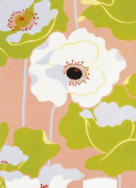 Image of   Wizard Genius F414 Poppies on Silk