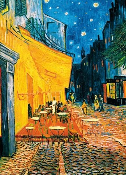 Image of   Wizard Genius F420 Terrasse de Café la Nuit