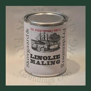 Image of   Linoliemaling inde 1 liter 10 Lys grågrøn