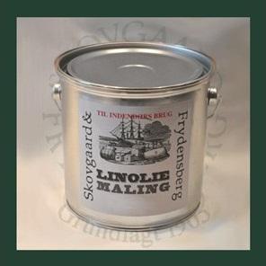 Linoliemaling inde 2,5 liter 12 Dyrehaverød