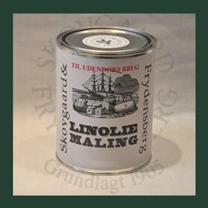 Image of   Linoliemaling ude 1 liter 10 Lys grågrøn