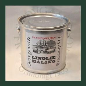 Image of   Linoliemaling ude 2,5 liter 10 Lys grågrøn