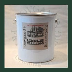 Linoliemaling ude 5 liter 10 Lys grågrøn