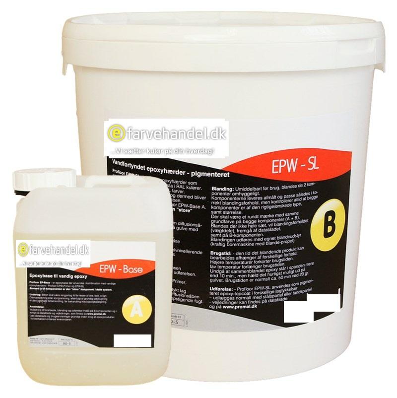 Image of   Epoxygulvmaling pro 12 kg Antikhvid (Ral 9002)