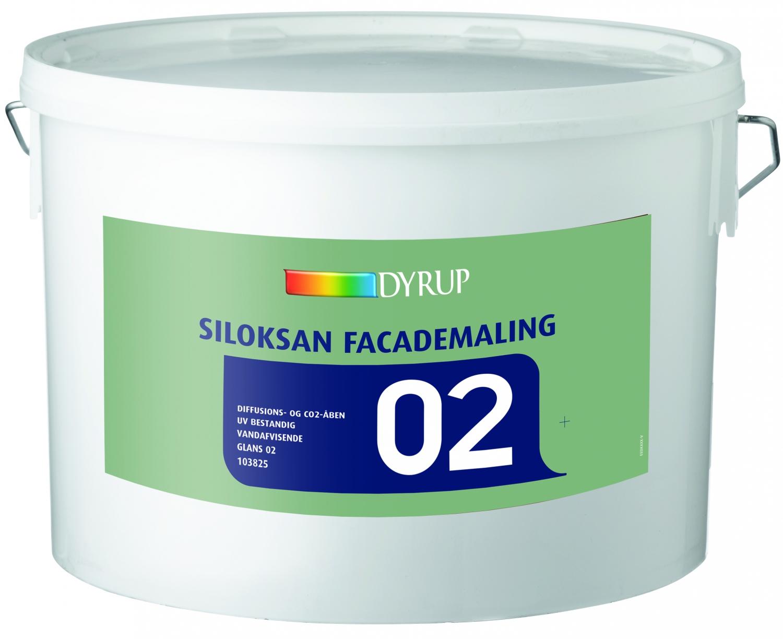 Image of   DYRUP Siloksan Facademaling hvid/base 10 10 L Hvid